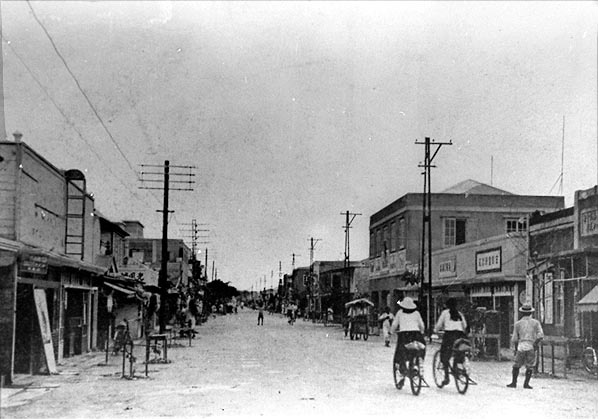 Street scene, Garapan village, 1930s. Photograph courtesy of the CNMI ...