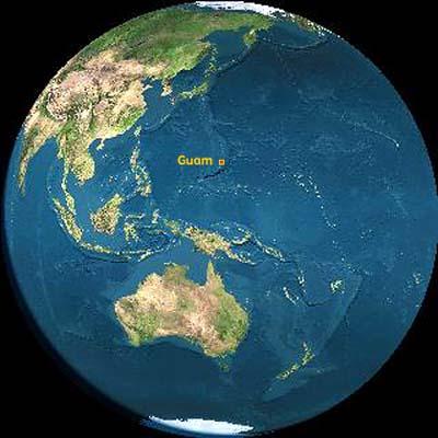 Guam Inarajan Location - Where is guam located